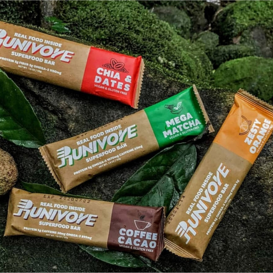 Superfood Bars<br> - 4 flavours mixed