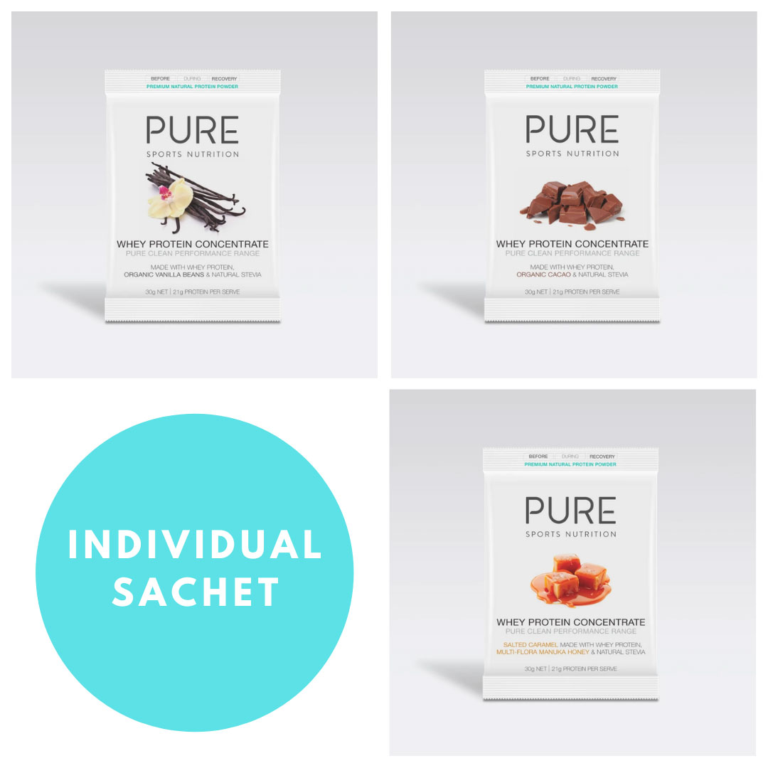 Whey Protein<br> - Individual Sachet