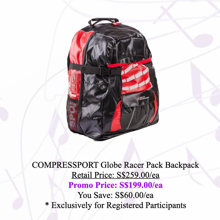 COMPRESSPORT Globe Racer Pack Backpack