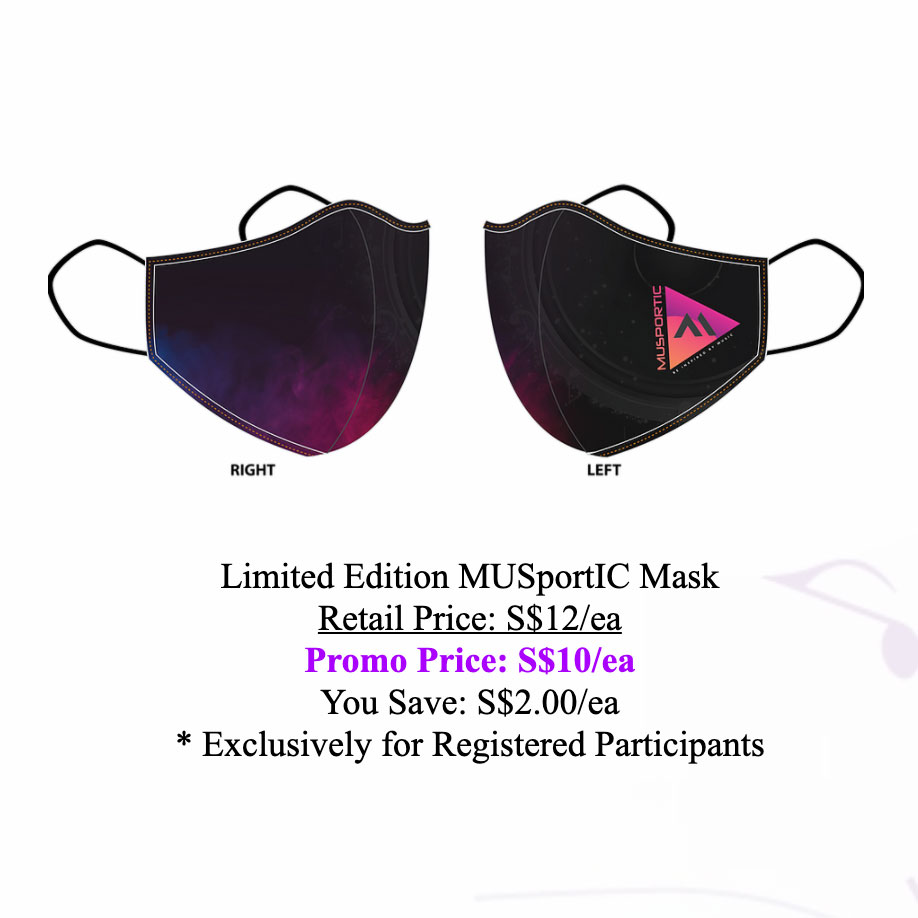 Limited Edition MUSportIC Mask